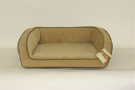 bowser dog beds bowsers orthopedic bolster dog bed hazelnut chaar