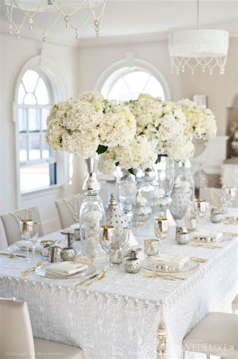elagant christmas table tops in white theme white wedding inspiration santorini tie the knot in santorini