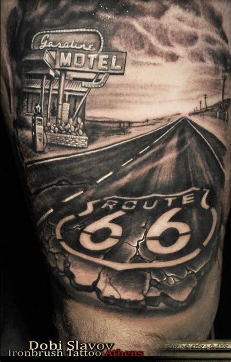 road tattoo designs resultado de imagen de route 66 armando