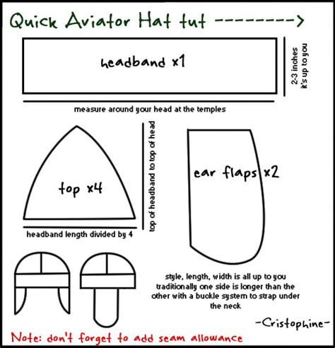 How To Make A Paper Pilot Hat - aviator cap tutorial by cristophine on deviantart