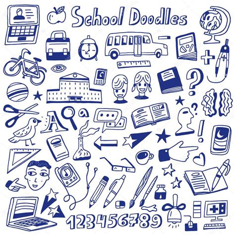 education doodle vector free school education doodles stock vector 169 topform 61385605