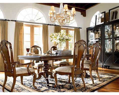 Thomasville Dining Room Tables Castillian Pedestal Table Dining Room Furniture Thomasville Furniture
