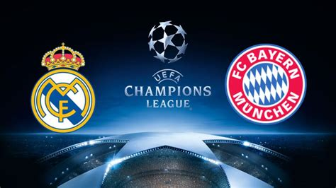 chions league draw bayern munich v real madrid real madrid vs bayern munich