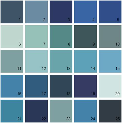 benjamin color swatches blue paint colors home design