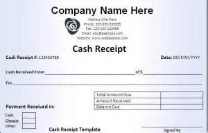 petty cash receipt template word excel formats