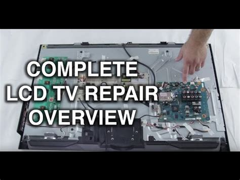 toshiba tv capacitor problem easy common fix toshiba lcd tv troubleshooting dead tv repair review travel the world and