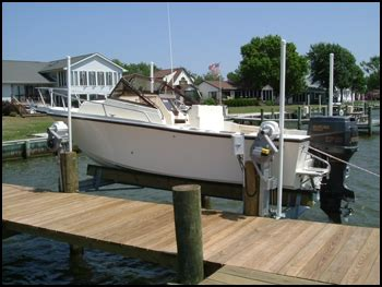 boat lift piling spacing magnum boat lifts magnum s