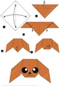 How To Make Paper Crafts Step By Step - how to make an origami poodle free