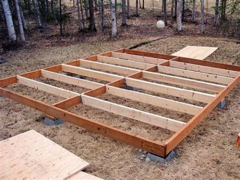 Small Shed Foundation by What You Need To About Diy Shed Building And Design