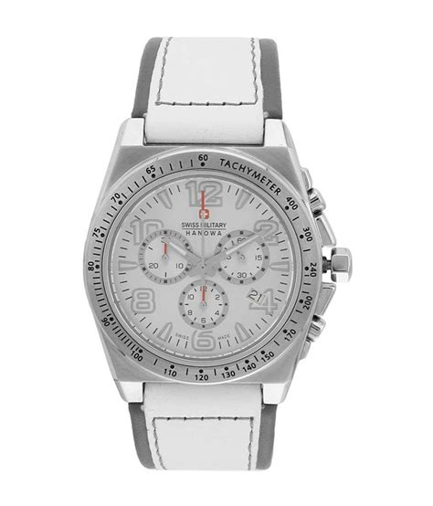 Swiss Army 1503 White Silver swiss silver analog chronograph s 6 4121 silver white snapdeal price