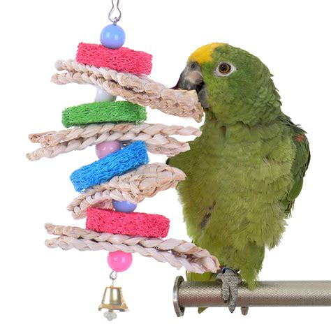 Handmade Parrot Toys - compare prices on log bird shopping buy low price