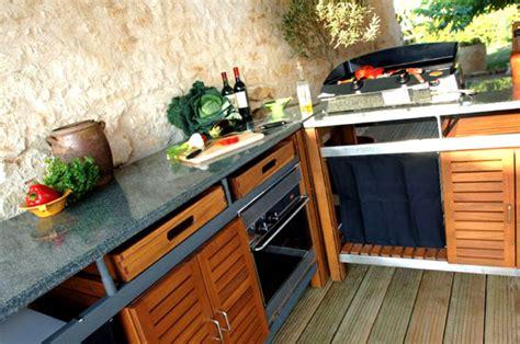Cuisine D Ete Exterieur by Cuisines D Ext 233 Rieur Et Barbecues Design Et Haut De Gamme
