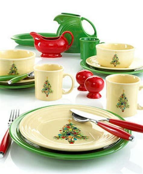 fiestaware christmas set fiesta dinnerware and table
