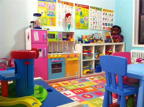 home daycare decorating ideas for basement
