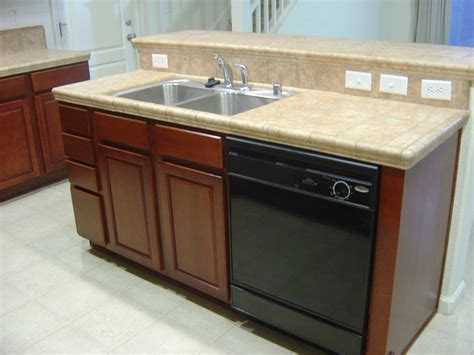 kitchen island with sink dishwasher randy gregory design