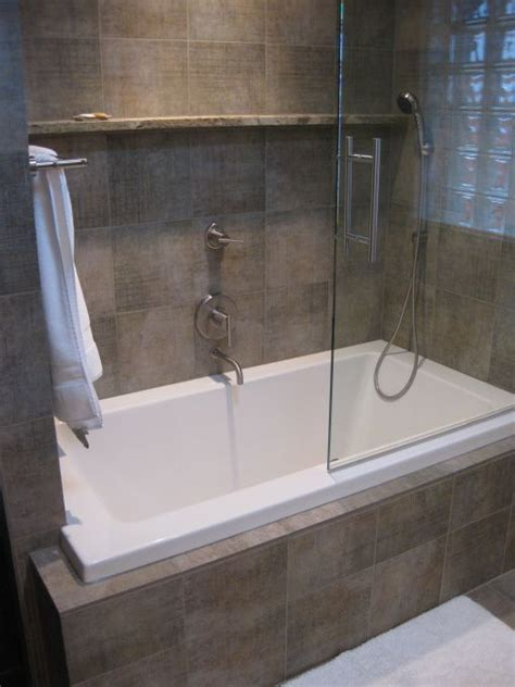 custom bathtub shower combo 9 best images about bathroom ideas on pinterest soaking