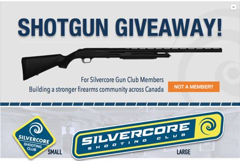 Firearm Giveaways - shotgun giveaway silvercore gun club pass the canadian