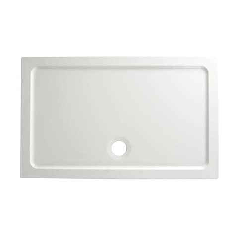 shower trays b q rectangular shower tray w 1200mm d 760mm vad