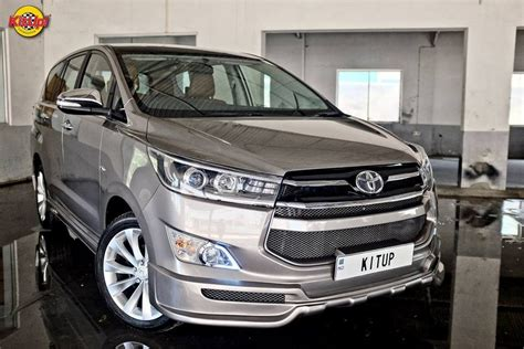 Bodykit All New Innova 2016 Crysta Thailand Style customised innova crysta is all glossy and sporty