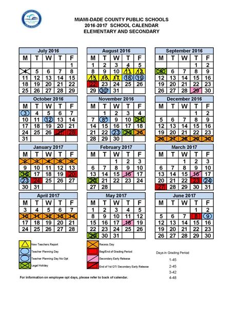 miami dade school calendar 2016 2015 miami dade school calendar mdcps 2016 2017 academic calendar dr dorothy bendross