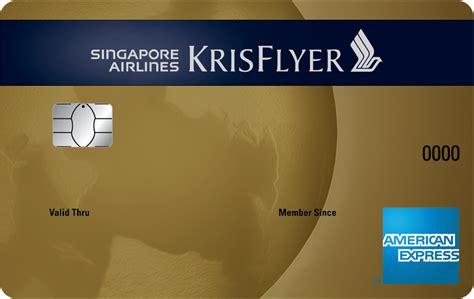 bca krisflyer credit card promotion singapore airlines infocard co
