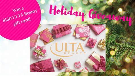 Win Ulta Gift Card - enter for a chance to win a 150 ulta beauty gift card dailybeautyhack