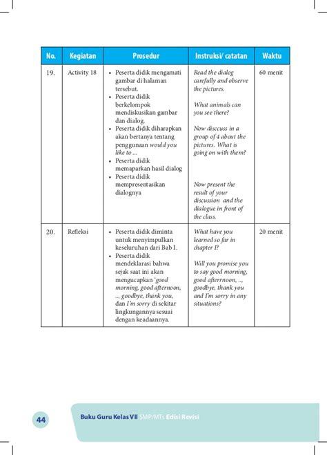 Buku Kunci Inggris Inspira buku guru bahasa inggris kelas vii smp kurikulum 2013