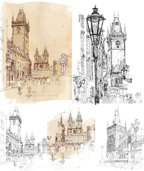 Hand Drawn Vector Graphics Blog Page 3 Architectural Drawings Vector