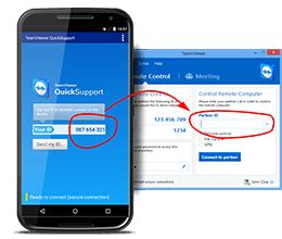 teamviewer mobile app teamviewer use mobile device support