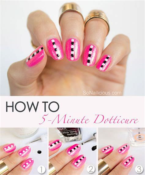 nail art tutorial step by step for beginners 25 easy step by step nail art tutorials for beginners