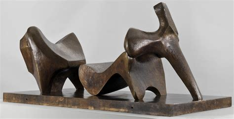 reclining figure henry moore three piece reclining figure no 2 bridge prop henry