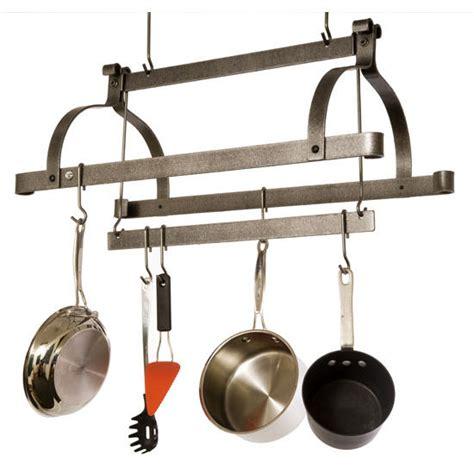 pot rack bar pot racks premier collection pr38 series hammered steel