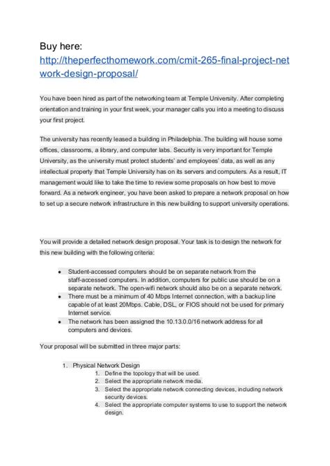 home network design proposal cmit 265 final project network design proposal