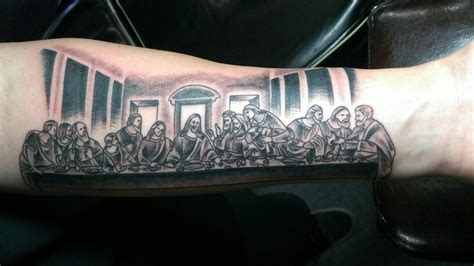 last supper tattoo design my last supper tattoos and