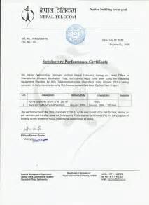 Appreciation Letter Nepali appreciation letter nepali trekking nepal information area letter