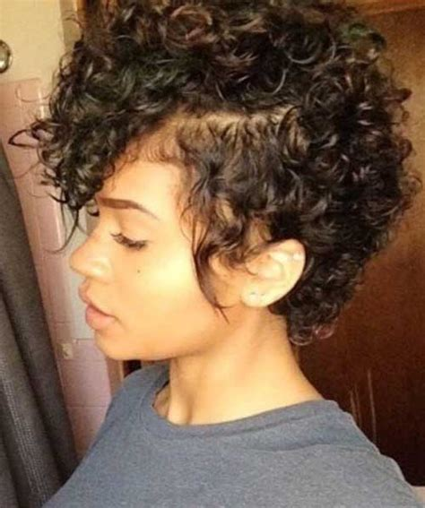mohawks with tight human hair curls 20 best long pixie hairstyles pixie cut 2015