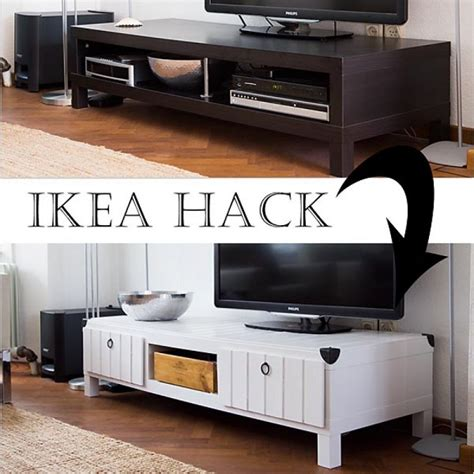ikea tv stand hack hometalk ikea hack tv stand makeover