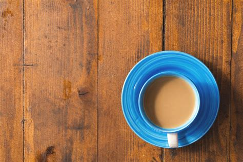 coffee cup  wooden table  stock photo libreshot