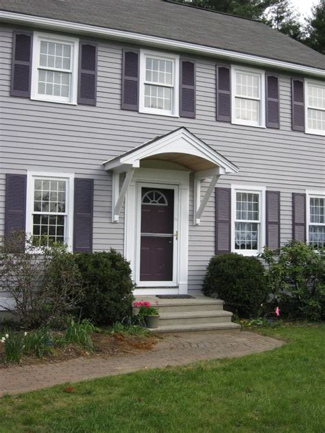 simple overhangcanopyawninghood  front door