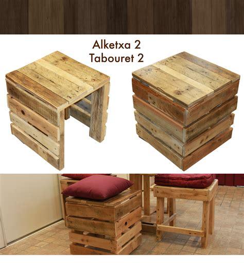 Tabouret De Bar En Bois De Palette by Tabouret En Bois De Palette Palettes Bois