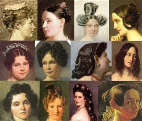 hairstyles from the 1800s history of hairstyles the 1800s fashions past to present