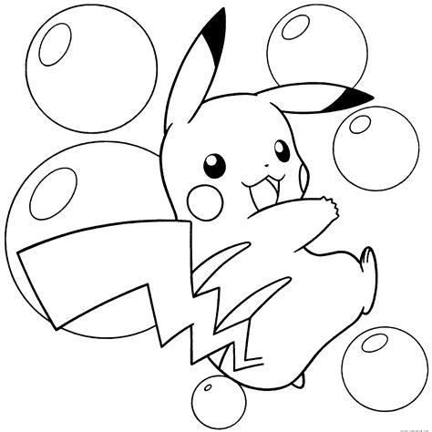 coloring pages pokemon pikachu pikachu coloring pages free large images