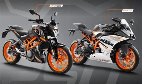 Ktm Duke 250cc Price Ktm Duke 250 Rc 250 Exports Of Made In India Motorcycles