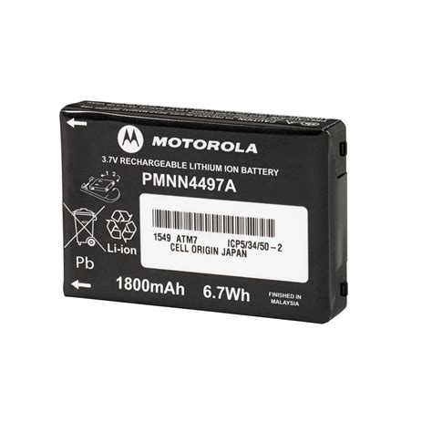 motorola cls replacement lithium ion battery pmnn4497