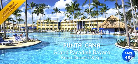 Grand Paradise Bavaro Beach Resort & Spa   Punta Cana Hotels & Resorts