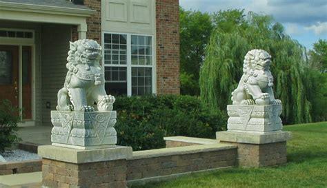 Feng Shui Lions Front Door by