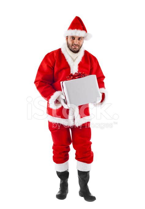santa claus standing stock photos freeimages com
