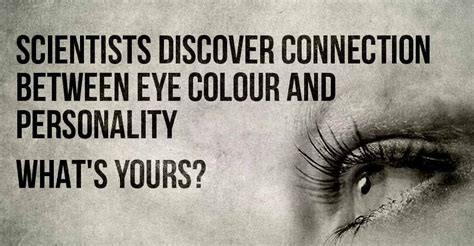 eye color and personality scientists discover connection between eye colour and