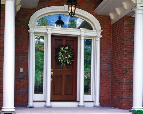 Exterior Door With Transom Entry Doors With Sidelights And Transom