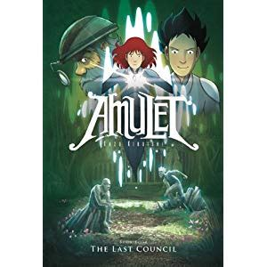 The Last Book 4 covers 2 covers amulet book 4 the last council
